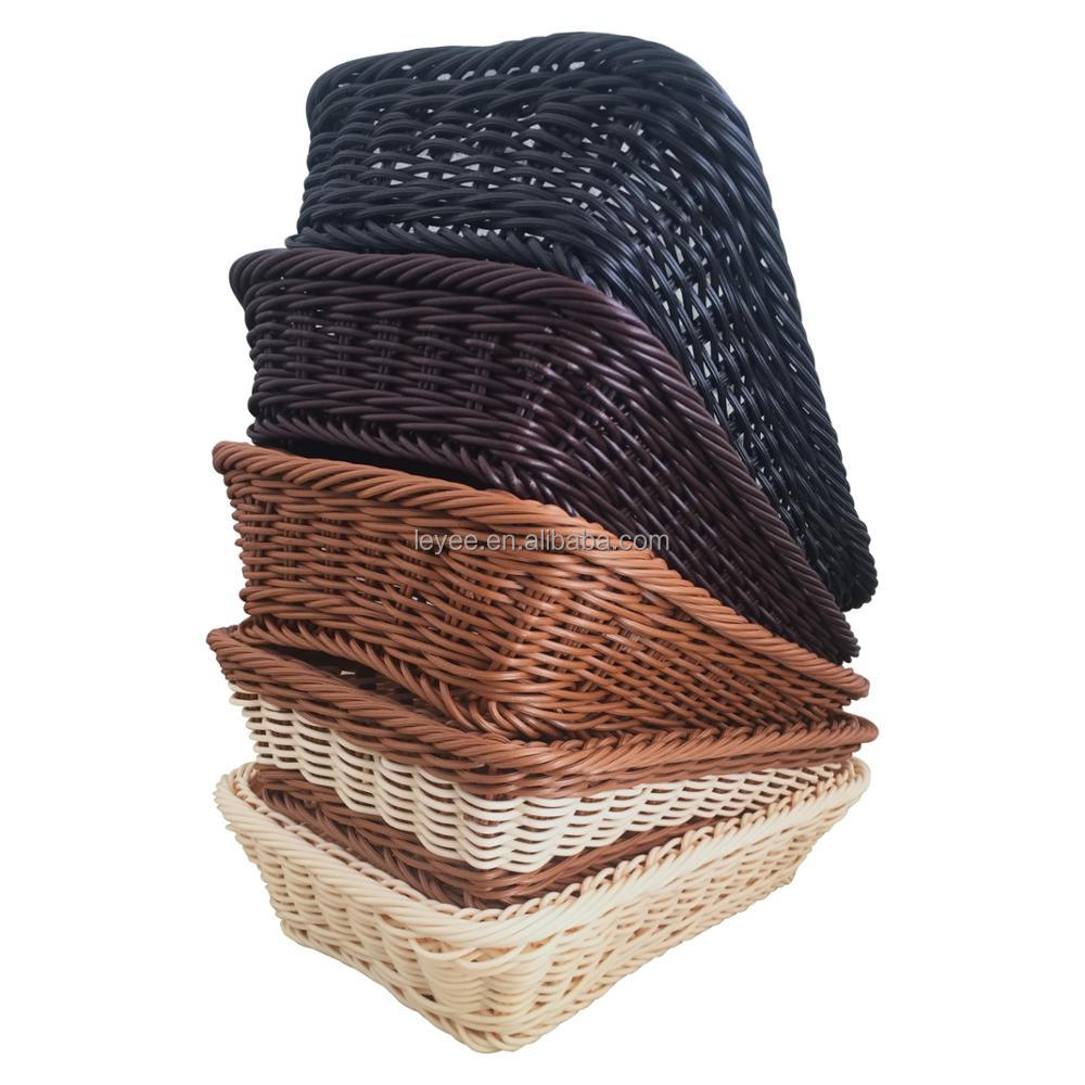 Wholesale cheap woven straw bread basket