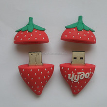 1gb 2gb 4gb 8gb 16gb 32gb 64g Strawberry Design OEM USB Flash Dish