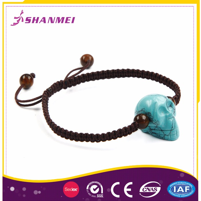 Jewelery Natural Semi Precious Malachite Best Charm Bracelets