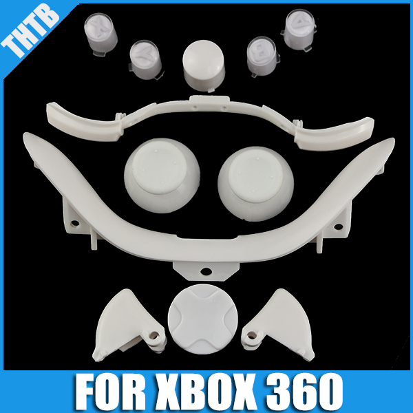Wholesale Replacement Part classic Buttons For XBOX 360 Controller With Thumbstick Dpad Kits