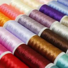 100% dyed rayon filament yarn viscose royal viscose rayon embroidery thread