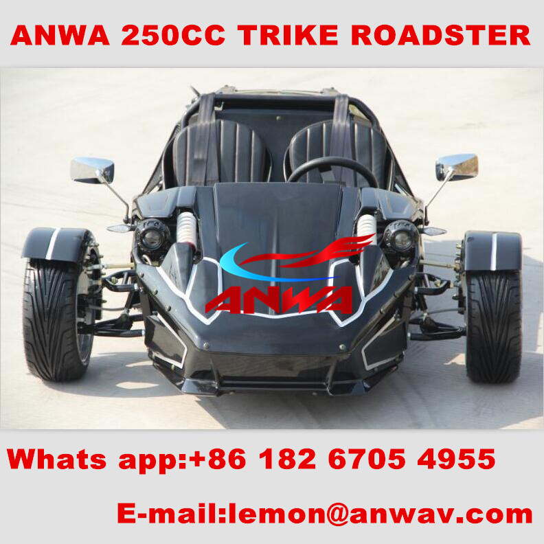 ztr trike roadster 250cc / smart roadster electric car