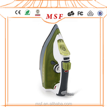 Green Big Water Tank Electric Steam Iron With Boiler