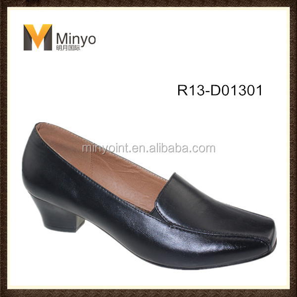 Minyo new design women low heel shoes