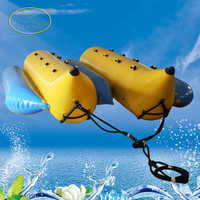 2015 NEW PVC inflatable double row banana boat for sale