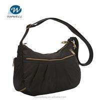 New Style Fashion polyester Women Leisure bag Shoulder Sling Bag blank handbag
