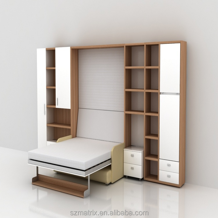 Wholesale China Transformable Bedroom Furniture King Size Pull Down Wall  Bed   Buy King Size Bed,Pull Down Wall Bed,King Size Pull Down Wall Bed  Product On ...