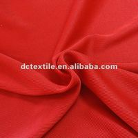 2X2 knitted tubular ribbed fabric