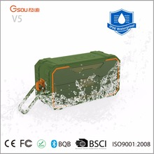 Gsou V5 high power 10watt wireless portable outdoor loud bluetooth speaker with new mini size design