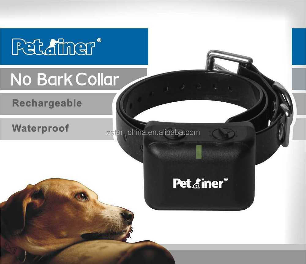 Fashionable colour Training Dog Stop Barking NEW Auto Static Shock Anti No Bark Control Collar