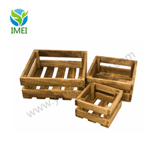 YM0732 custom made vintage wood crate Shabby Chic wood crate for fruits box