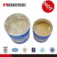 HORSE hm-120 adhesive for stainless steel to stainless steel