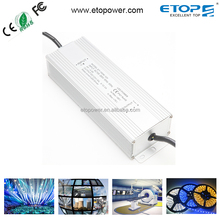 IP67 IP65 Waterproof Led Driver Electronic Dimmable 12v 24v 48v Power Supply With Active PFC