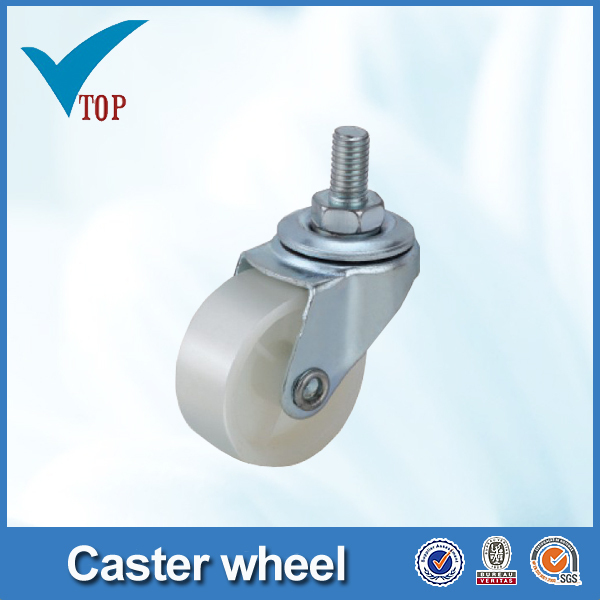 Furniture screw type screw chair casters