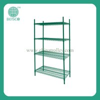 4 Tiers Metal Greenhouse Plant Shelf With NSF Approval