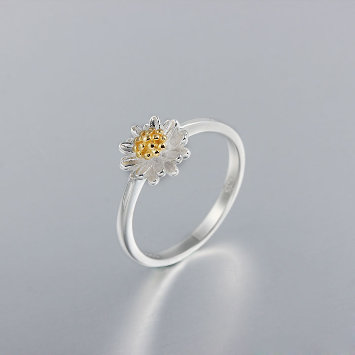 Spring Ring Silver and Gold Plating Jewelry 925 sterling silver ring wholesale
