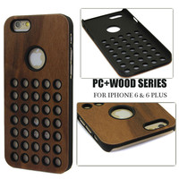 Factory directly sale wood cover for iphone 6 bamboo mobile phone case