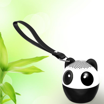Panda bluetooth speaker with Shutter for promotion gift