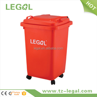 home appliance trash can 4 wheels recycle bin direct from china