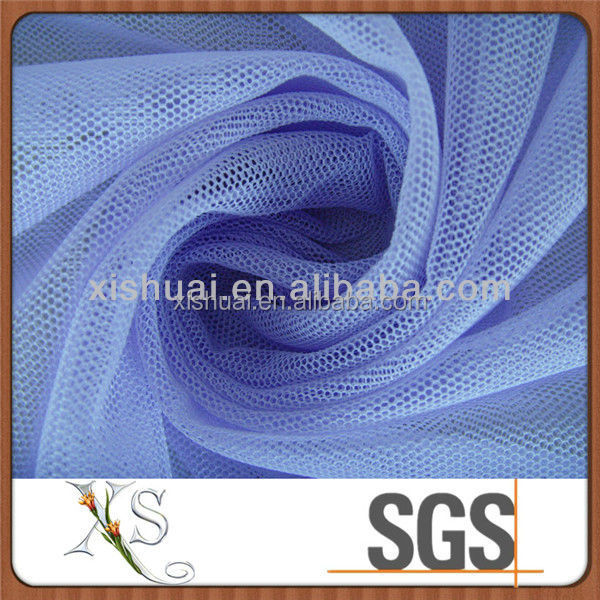 High quality 100% Polyester Tulles reflective cloth