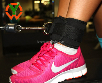 gym fitness Stronger soft neoprene Ankle Strap