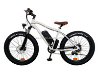 "26""*4.0inch big power 500w1000w brushless motor 48v lithium battery strong electric bicycle /fat tire electric mountain bike"
