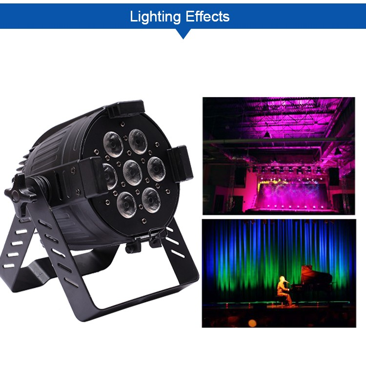 hot selling portable cheap led stage event light 4in1 rgbw 7x10w led mini par can light