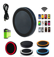 2015 Hottest Universal Standard Qi wireless android tablet charger with USB Port & USB Cable