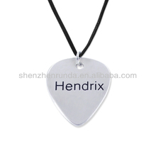 Personalized Jewelry For Men Guitar Pick Necklace