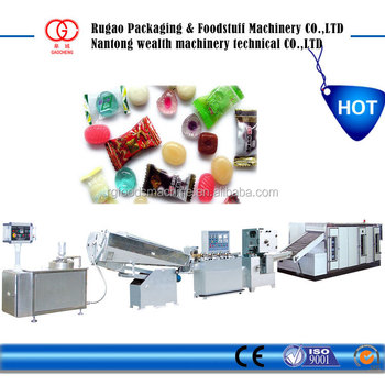 Fully Automatic hard candy making Machine with Jam Filling