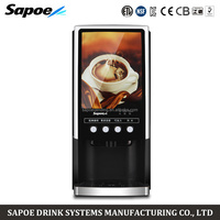 Sapoe 3 different kinds coffee machine for restaurant and hotel China