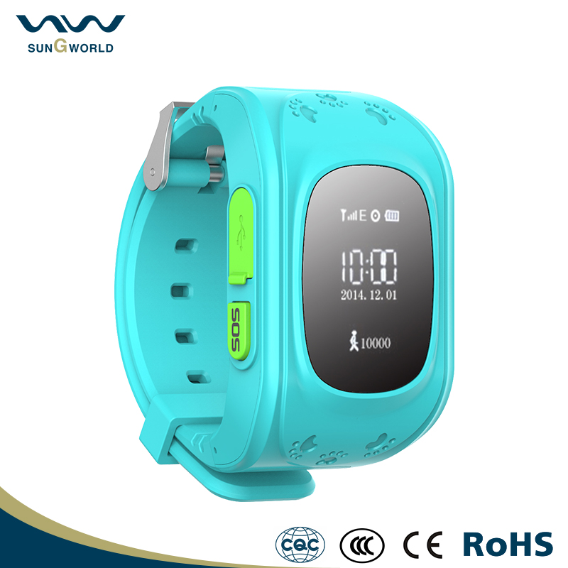 New Children Double GPS located gps locating smart mobile phones watch