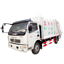 Waste Collection Vehicle Garbage Compress Truck 14CBM with Hydraulic Flapper