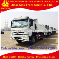 sino truck howo diesel engine mini dump truck / tipper truck for sale