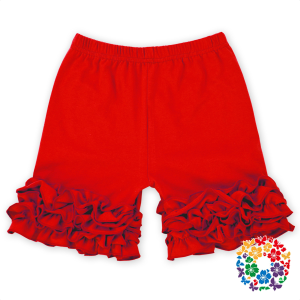 Wholesale Ruffled Organic Cotton Shorts High Quality Baby Training Pants