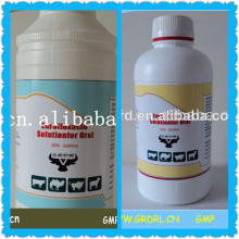Veterinary Medicine20% Enrofloxacin Oral Solution For Poultry And Livestock