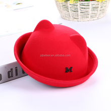 Kids knitted cap muslim cap knitting machine hand knitted warm woolen cap for kids