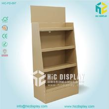 Cardboard book shelf,cardboard cut out display stands,stand for display