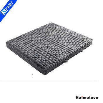 Factory wholesale healthy brands ripple bed frame mattress