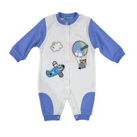 Infant romper baby wear high quality cotton printed rompers babywear knitting patterns
