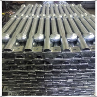 high quality galvanized steel ball joint stachion handrail
