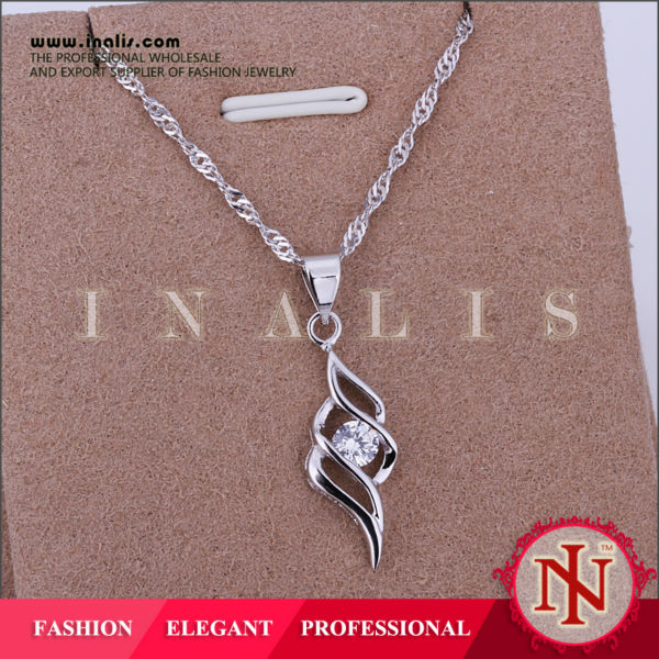 Handmade fashion copper couples jewelry pendant 925P011