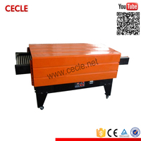 Economic film-packing machine ce certificate thermal heating shrinking film sealer for cigarettes