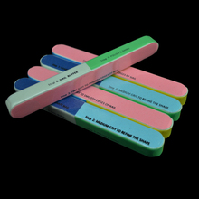 Professional cheap price 7 ways nail file buffer wholesale 7 steps in one nail file in stock