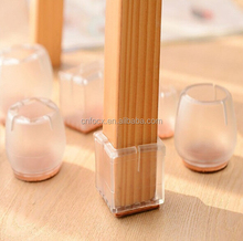 Transparent Furniture Leg Cover / Table Chair Leg Cap / Leg Feet Protector