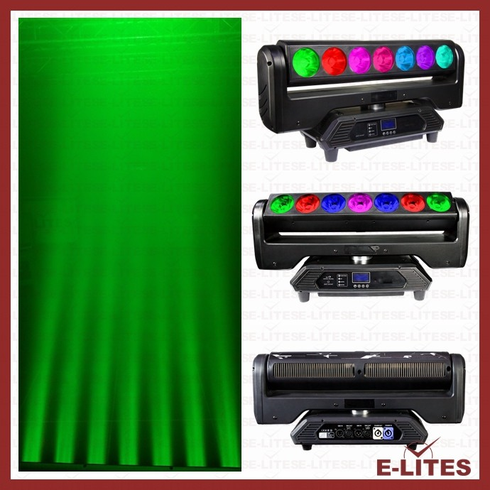 RGBW 4in1 professional beam rotation endless moving led stage lighting