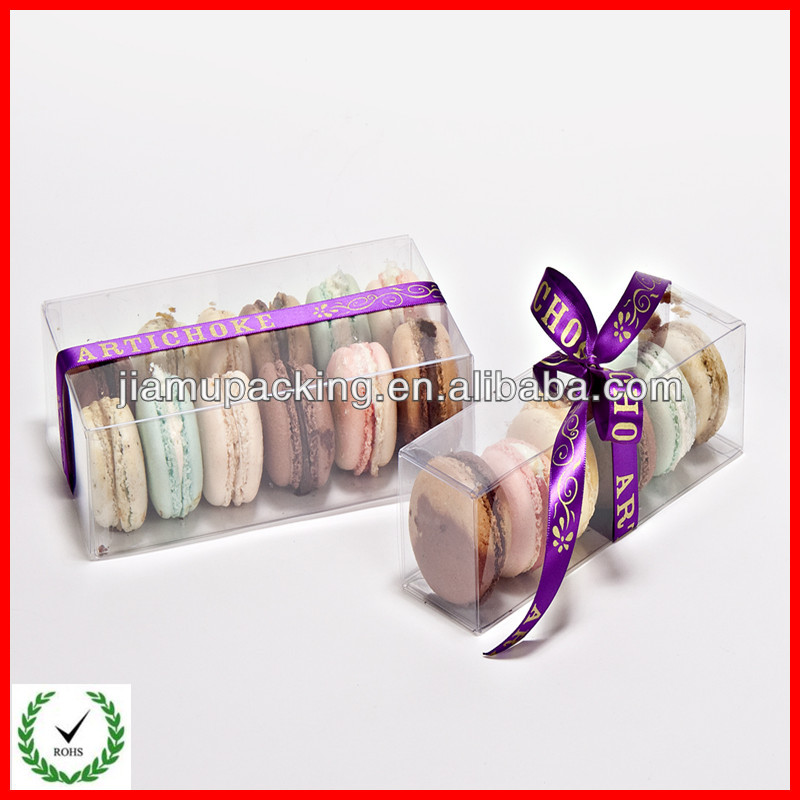 Wholesale China Supplier Plastic Gift Boxes For Macaron