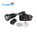 Best powerful 2000M longest distance TrustFire X6 tactical flashlight 2300LM police torch 18650 CREE led flashlights