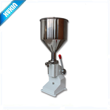 Food filling machine Manual hand pressure stainless paste dispensing liquid packaging equipment sold cream machine 5~ 50ml