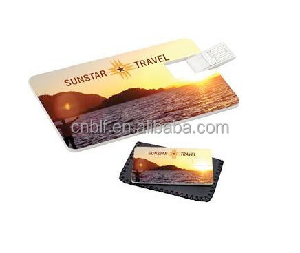 1GB/2gb.4gb/8gb/16gb/32gb/64gb USB 2.0 Credit Card USB Flash Drive With Custom Personalized Logo